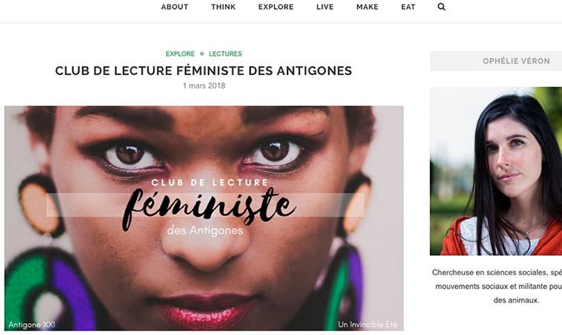blog,animal,féminisme,sensible,livre,antigone,club,lecture