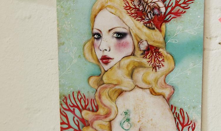 blog,animal,minasmoke,sensible,artiste,peinture,oeuvre,illustration,sirène