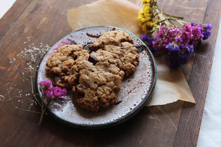 blog,fleurs,teashop,eva,animal,sensible,recettes,cookies,goûter,dessert,sucre,test,vegan,végétalien
