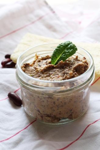 vegan,blog,tartinade,houmous,végétalien,haricots,rouges,poivrons,recette,salé,été4
